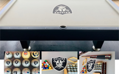 Raiders Pool Table Raffle
